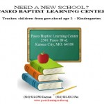 Paseo Baptist Learning Center Open Enrollment